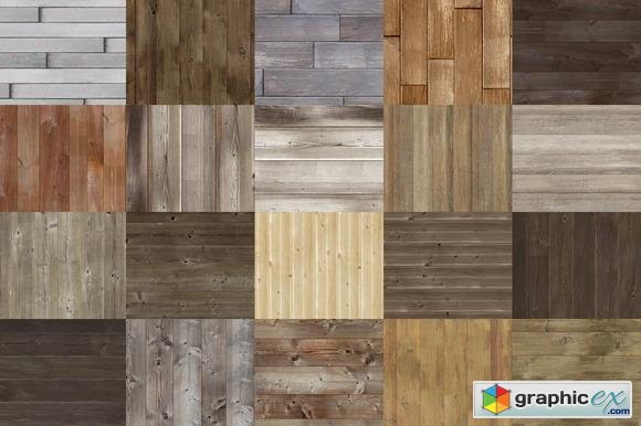 Wood Texture Pack 2 - Creativemarket 75284