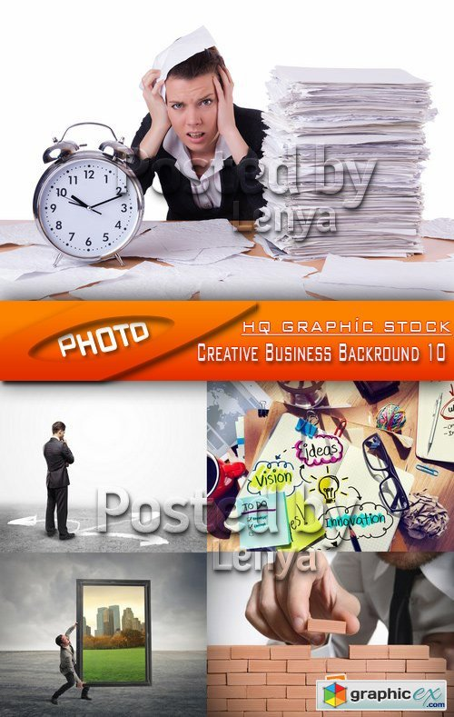 Stock Photo - Creative Business Backround 10