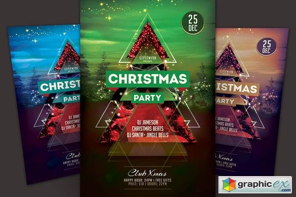 Christmas Party Flyer 105520