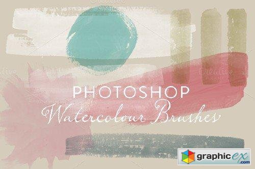 Watercolour Photoshop Brushes 26699