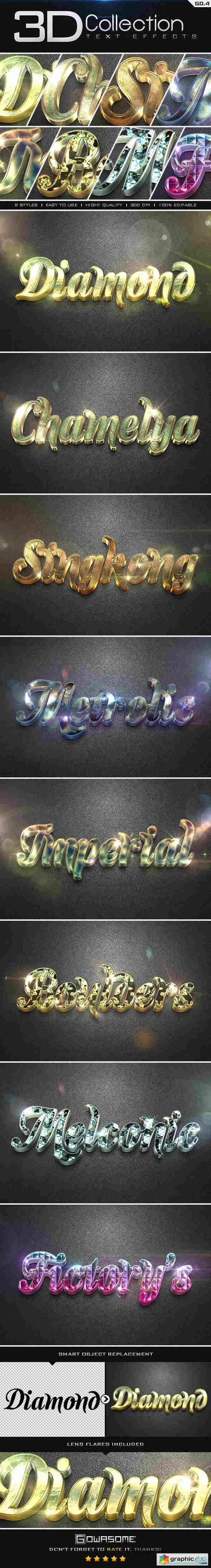 3D Collection Text Effects GO.4  8908225
