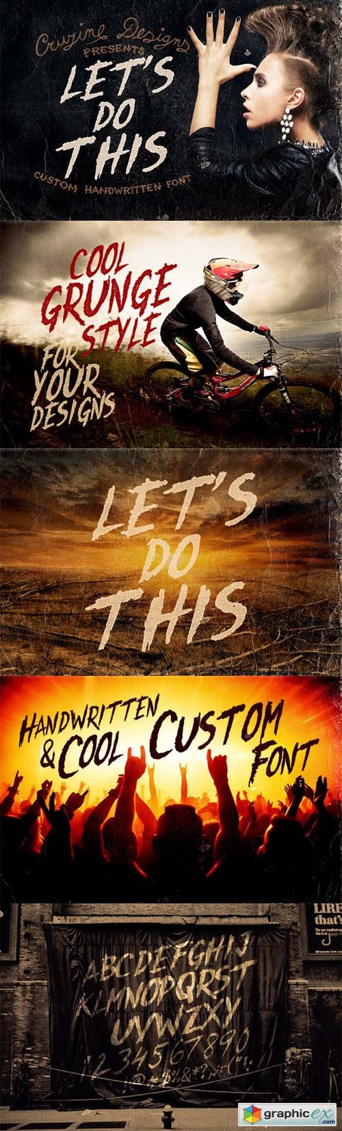 Let's Do This Custom Font 75564