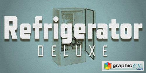 Refrigerator Deluxe Font $74