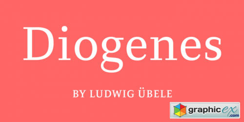 Diogenes Font Family $277
