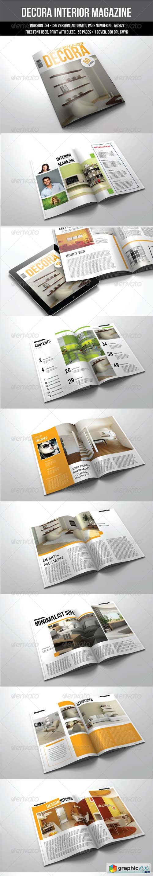 50 Pages A4 Indesign Magazine Template 7394852 Free Download