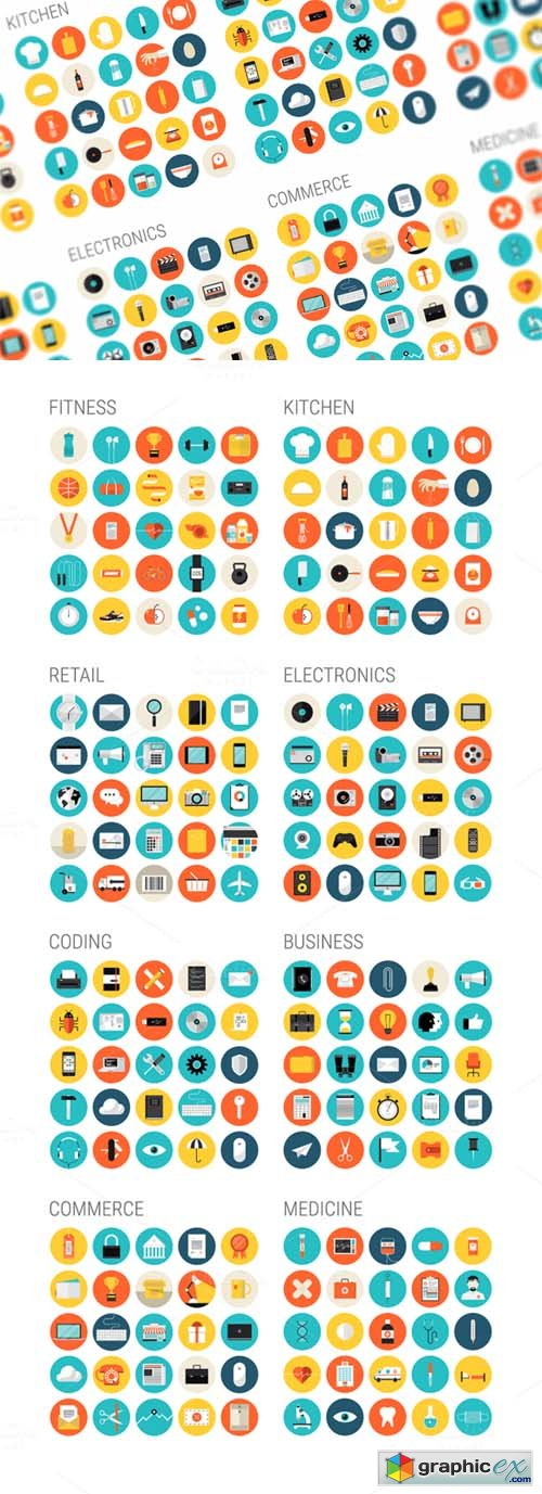 Brighty Flat Icons 73498