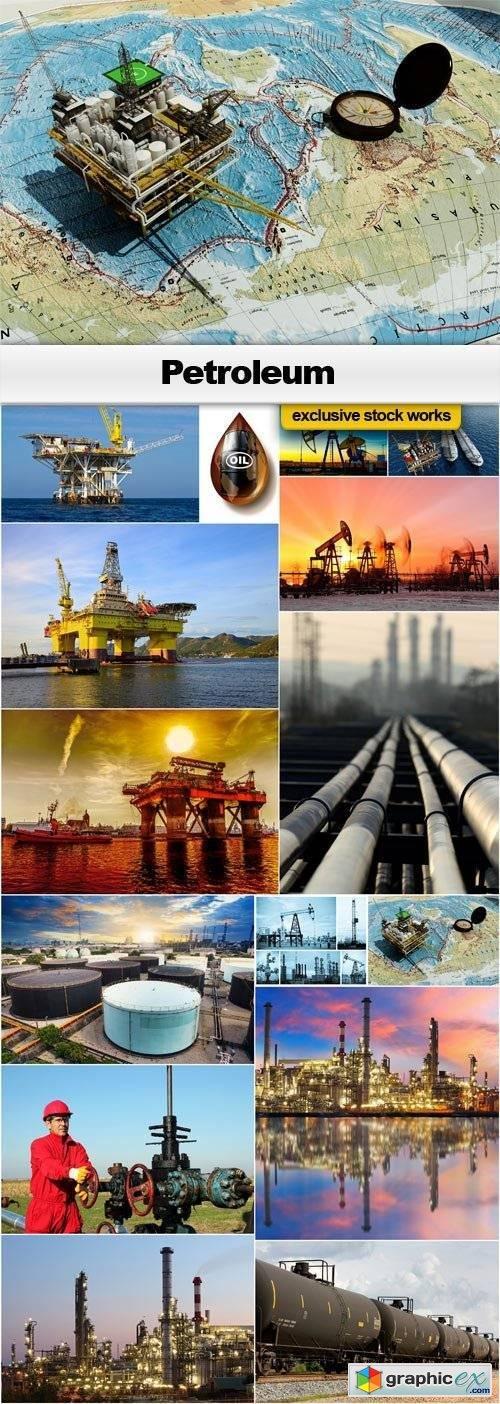 Petroleum - 15x JPEGs