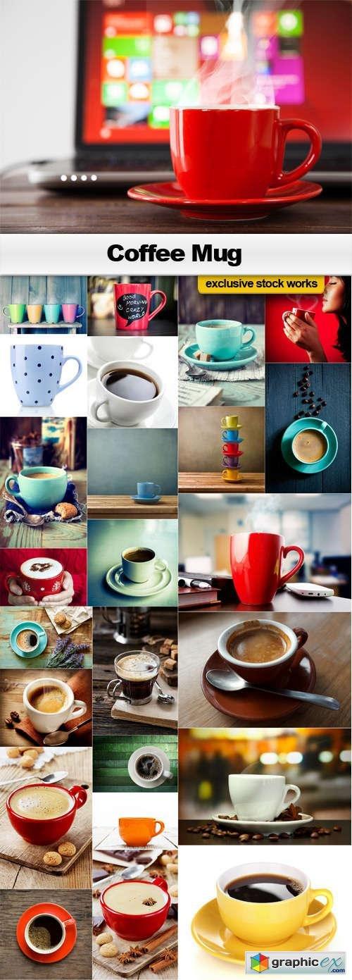 The Coffee Mug - 25x JPEGs
