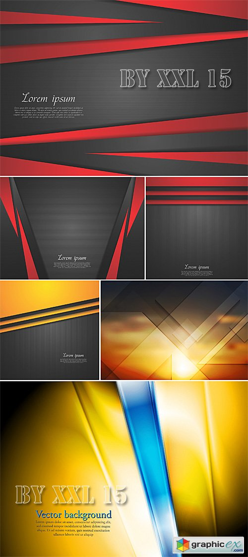 Concept abstract vector backgrounds