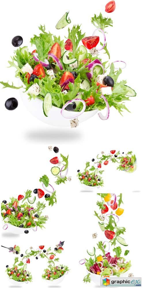 Fresh vegetables, healthy �ating - Stock Photo