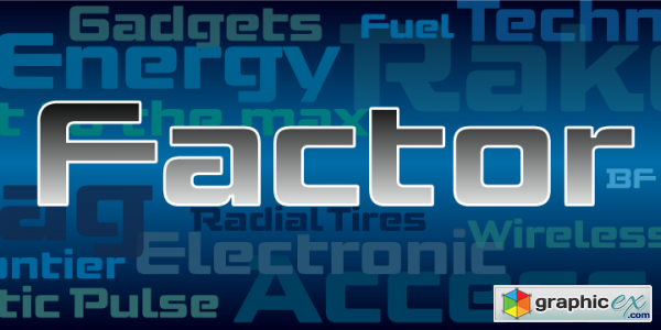 Factor BF Font Family $55