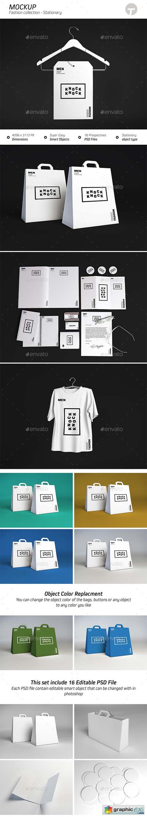 Stationary Mockup ( Fashion Collection )