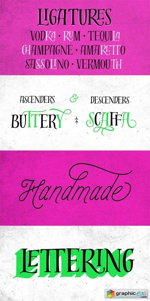 Distillery Font Family - 5 Fonts $79