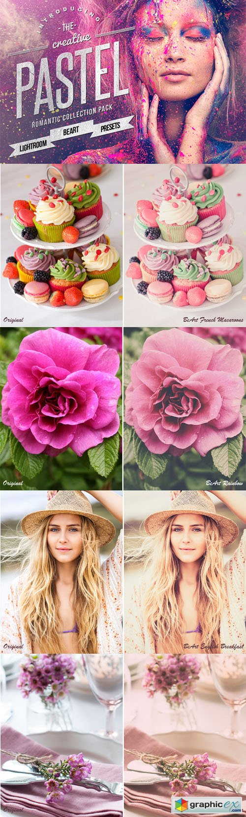 Pastel Colors Lightroom Presets