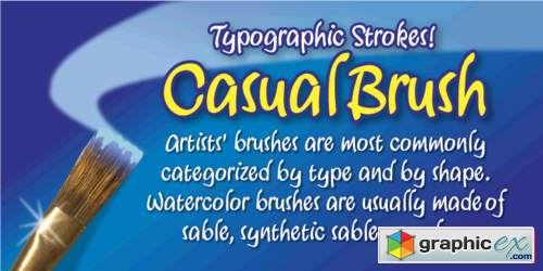 casual brush font family  40  u00bb free download vector stock