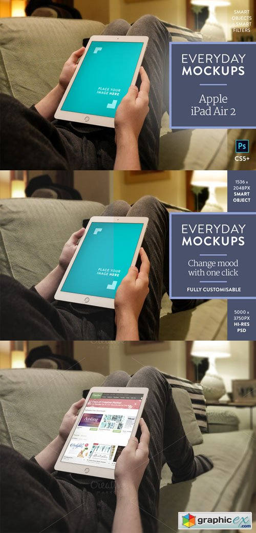 iPad Air 2 � Everyday Mockups 6