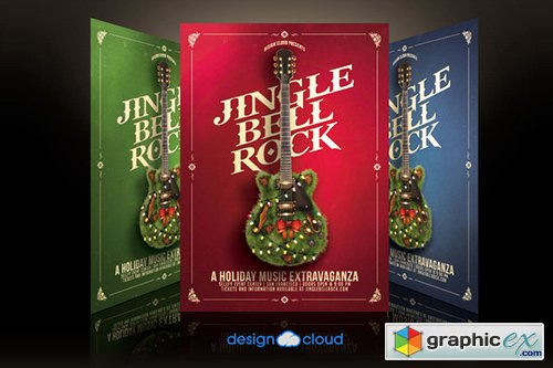 Jingle Bell Rock Flyer Template