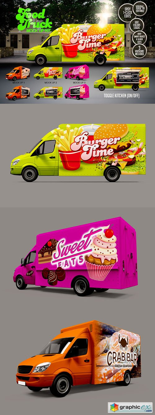 Food Truck Mock Up Kit