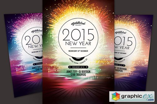2015 New Year Flyer