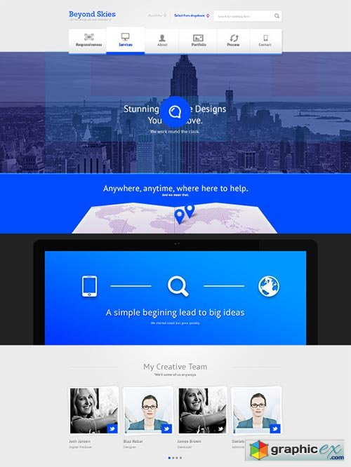 Professional Creative Theme