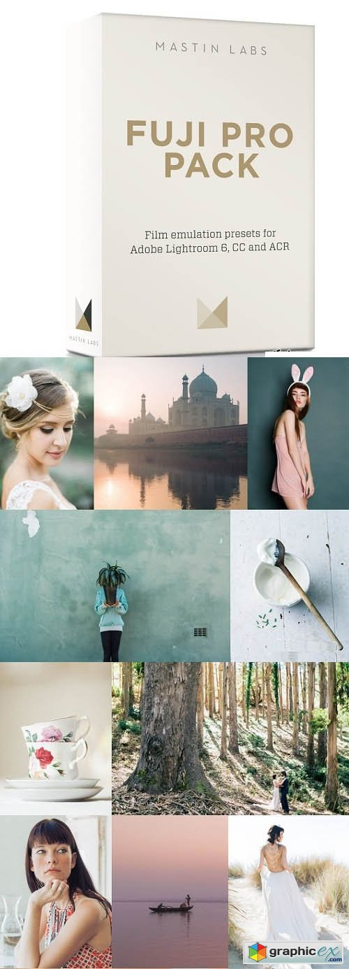 Mastin Labs Fuji Pro Pack Lightroom Presets
