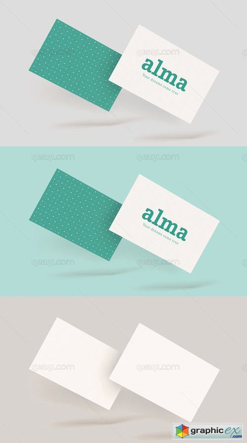Business Card Mockup - Start Up Style