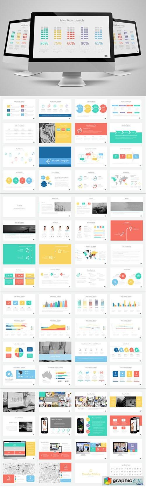 maya presentation template » free download vector stock image, Presentation templates