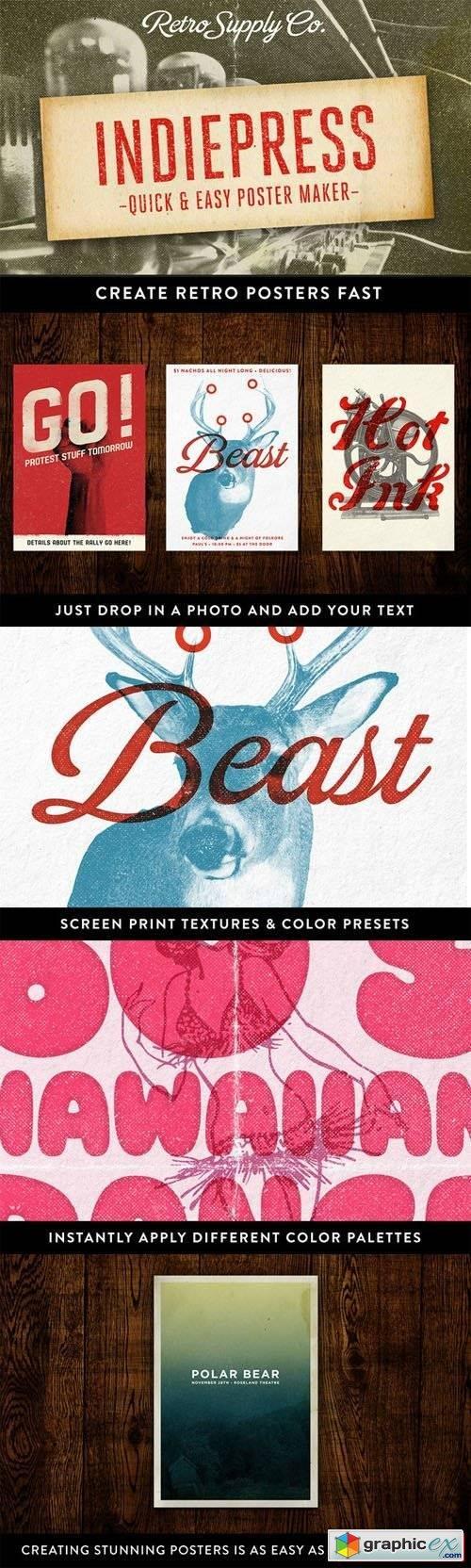 Poster design maker free download - Indiepress Quick Poster Maker