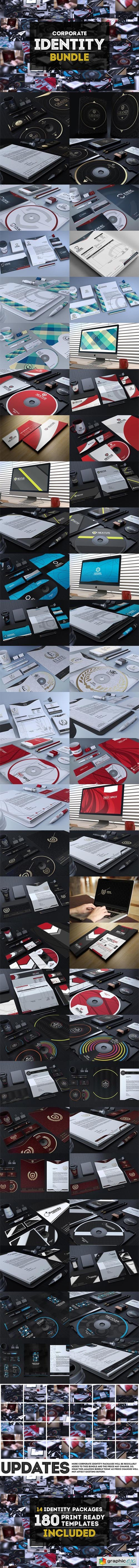 Corporate Identity Bundle +180 Files