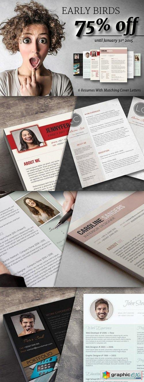 Early Bird: 75% OFF Resume Bundle