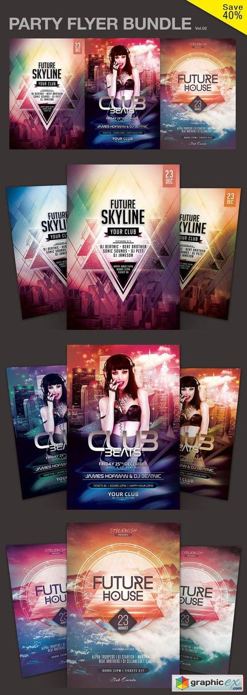 Party Flyer Bundle Vol.02