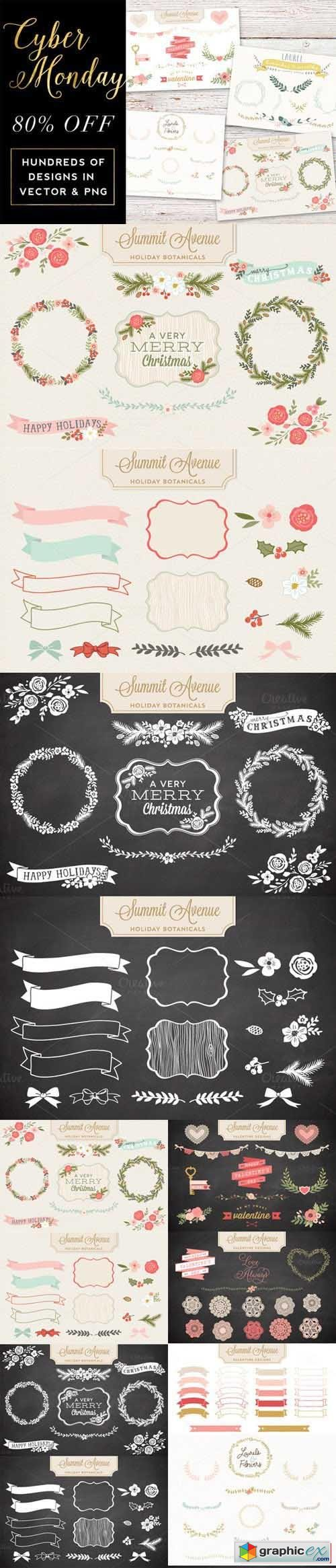 Cyber Monday Graphic Bundle