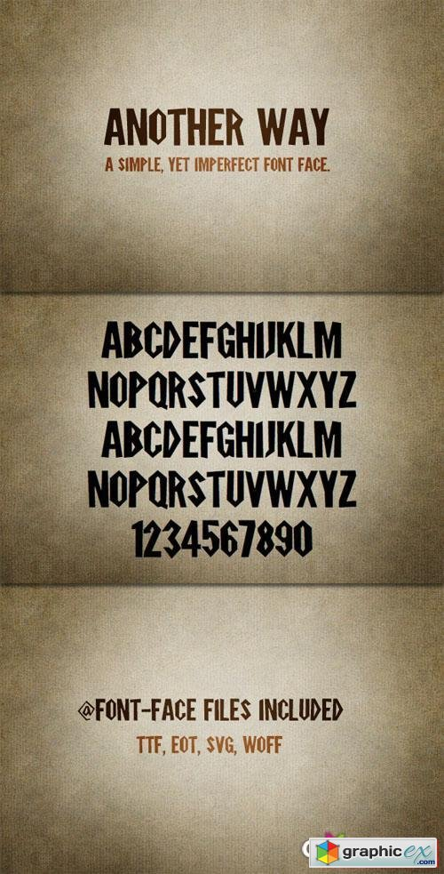 Another Way Font Kit
