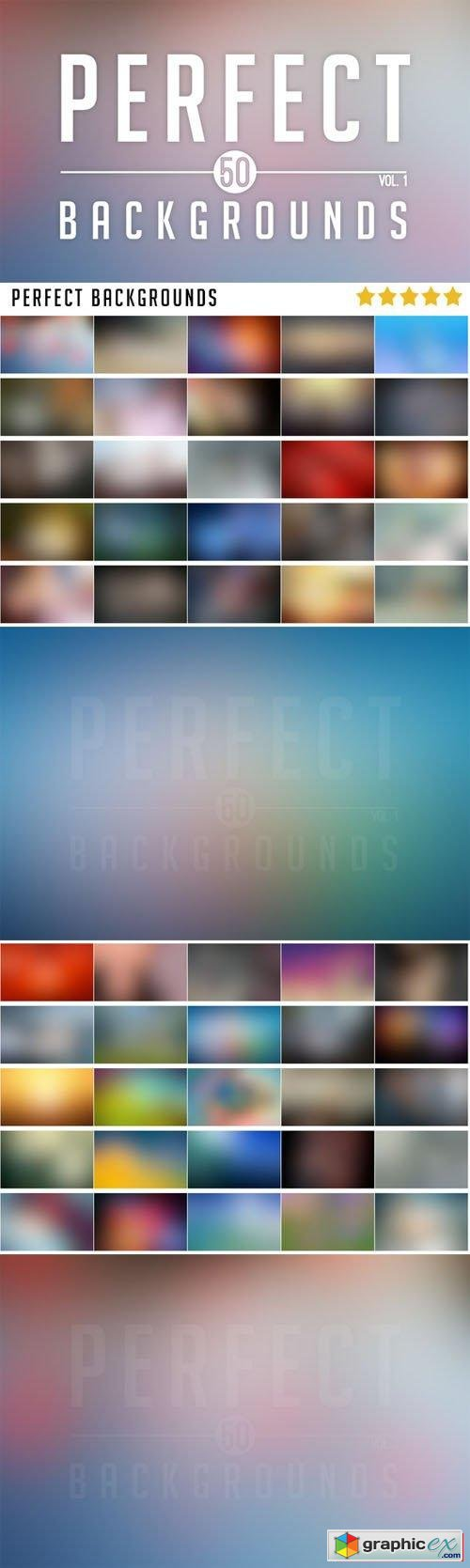 50 Perfect Blurred Backgrounds Vol.1