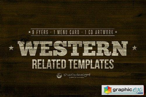 11 Western Related Templates