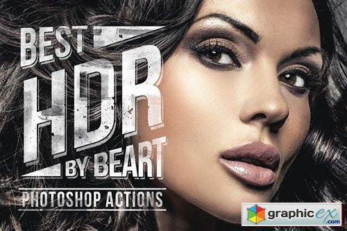 Premium HDR Photoshop Actions