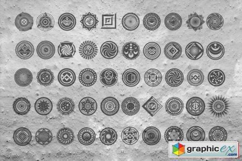 50 Ancient Symbols 187 Free Download Vector Stock Image
