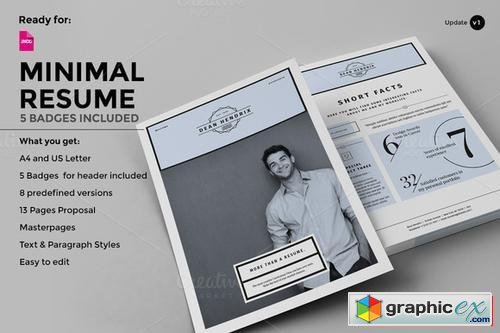 Resume - 13 Pages - CV - Portfolio