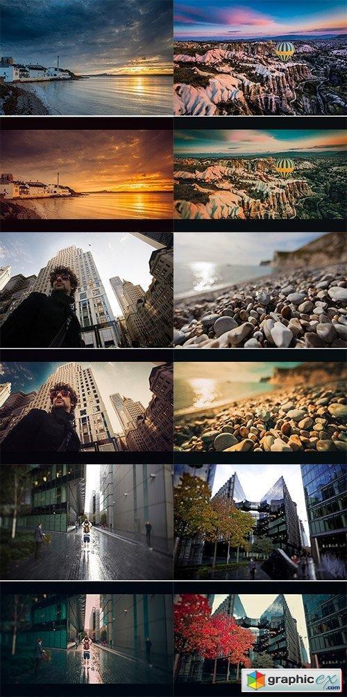 Cinematic Film Look Lightroom Presets Vol 3 Free Download Vector