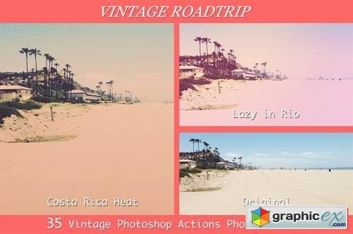 Vintage Roadtrip - 35 PS Actions