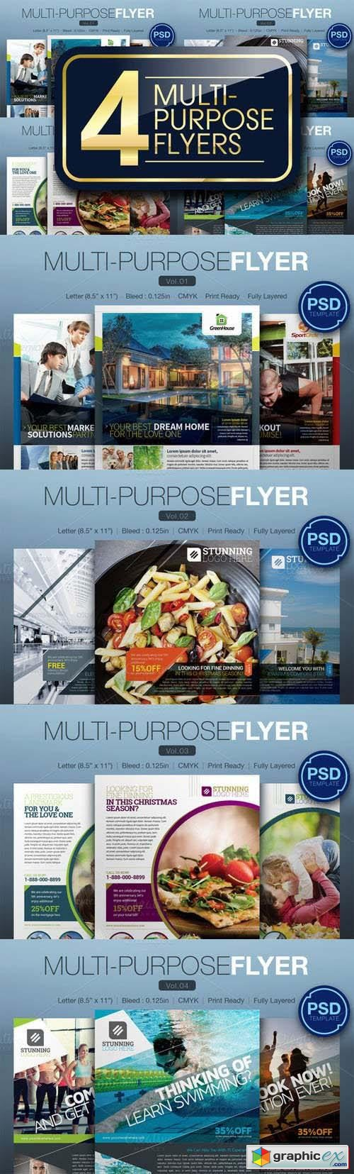 Multipurpose Flyer Bundle