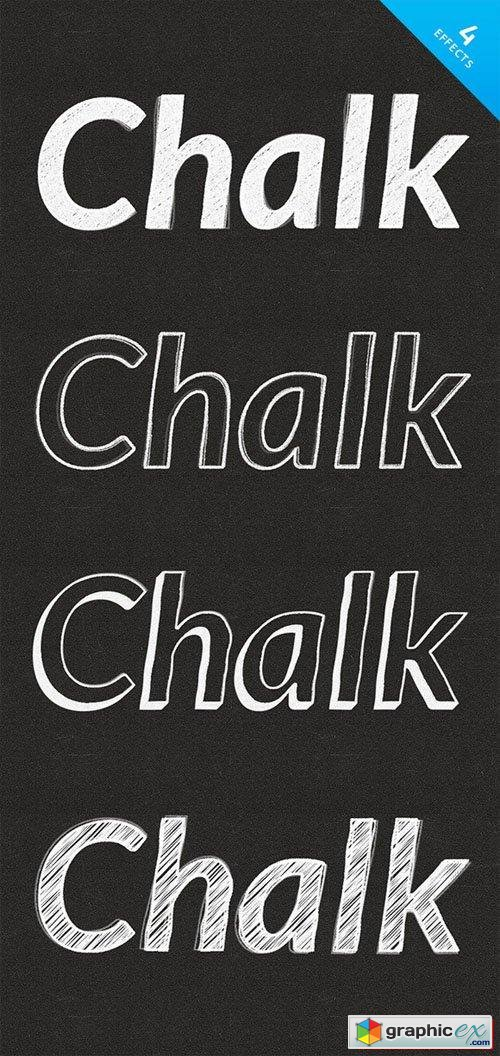 Chalk Text Effects