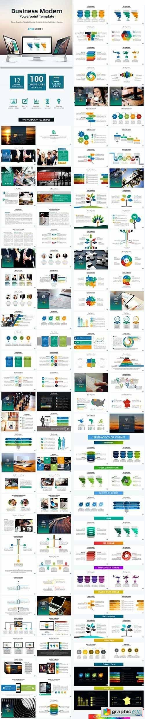 Business Modern Presentation Template