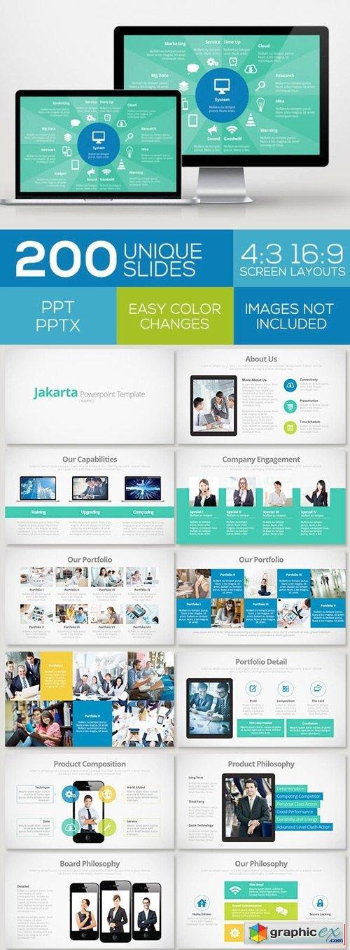 Jakarta powerpoint template volume 3 free download vector stock jakarta powerpoint template volume 3 toneelgroepblik Images