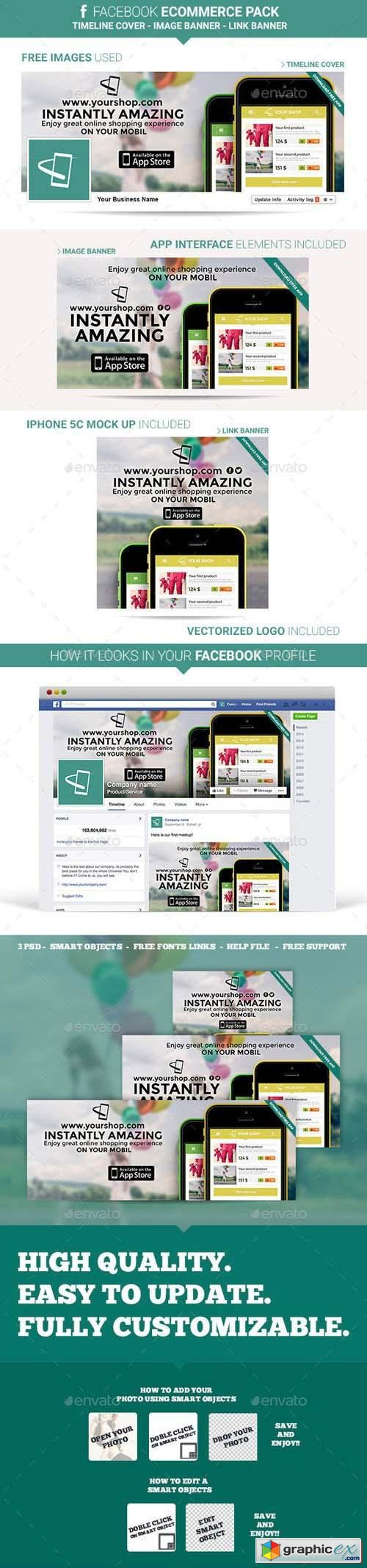 Facebook Ecommerce Pack