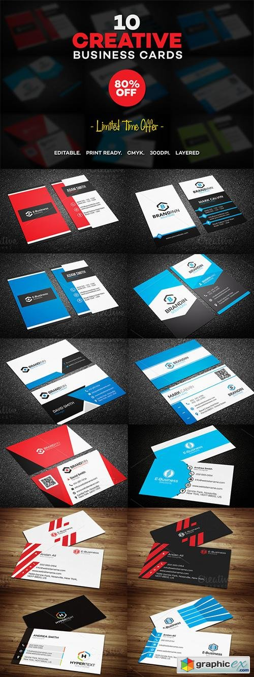 10 Creative Business Card Templates