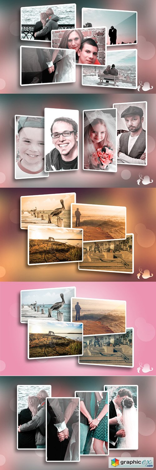 Memories - Photo frame template