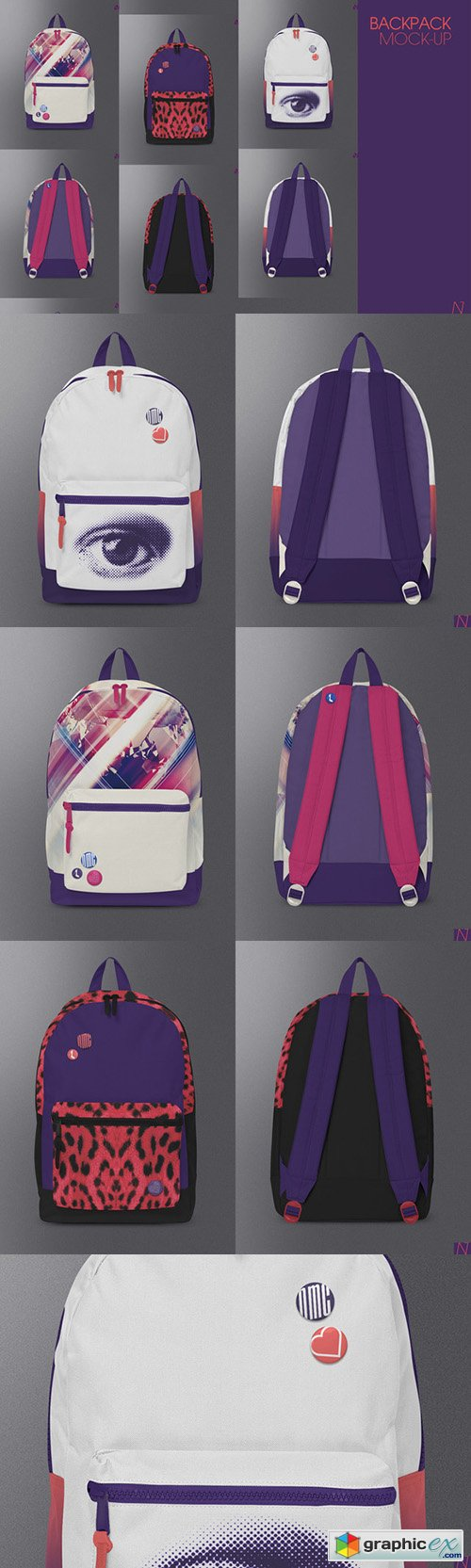 Backpack Mock-up