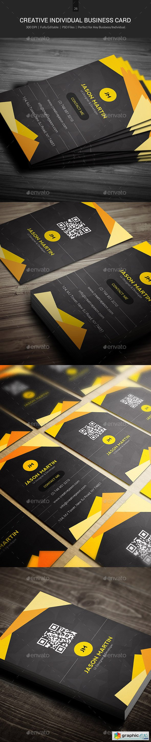 Creative Individual Business Card - 26
