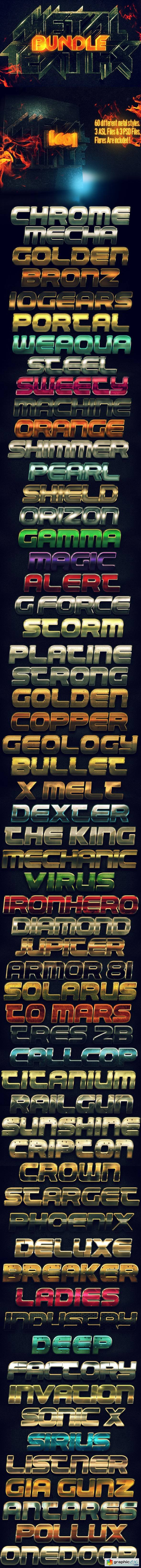 Metal Text FX BUNDLE